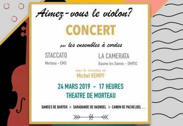 Concert -Aimez-vous le violon?