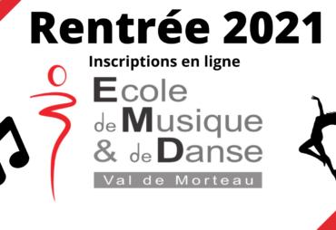 Inscription rentrée 2021/2022